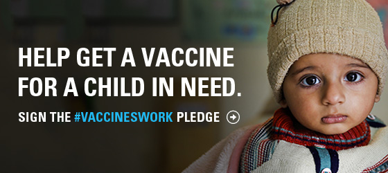 An email graphic for a UNICEF USA advocacy campaign
