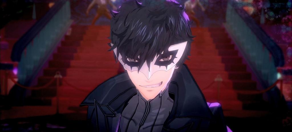 Screenshot from  Persona 5 .