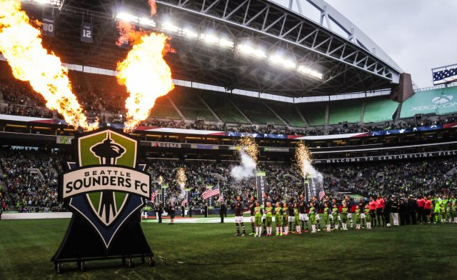Seattle Sounders at CenturyLink Field Stadium (2016) | (U.S. Army |  Adeline Witherspoon )