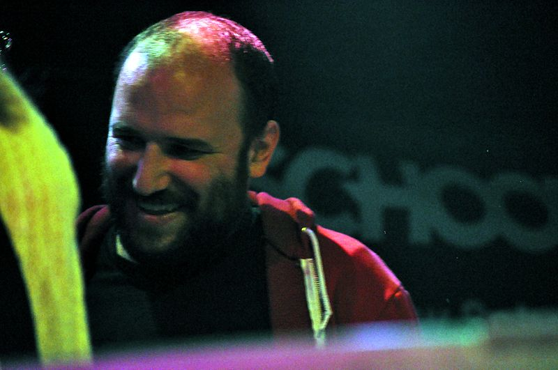 Bazan at a School of Rock concert in Seattle |  Joe Mabel
