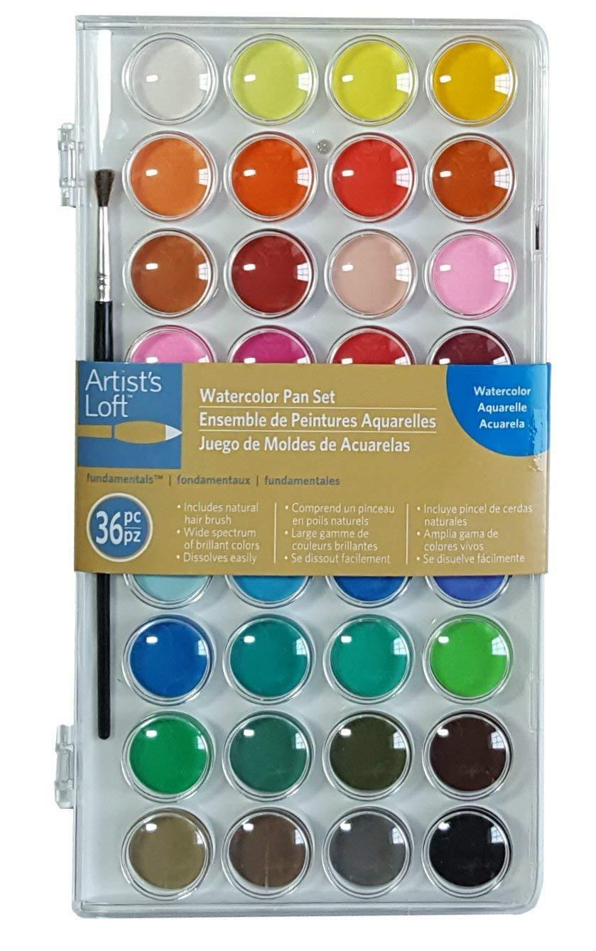 Watercolor pan set -