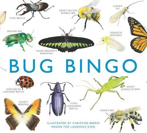 Bug bingo - a fun and educational way to learn to identify bugs!