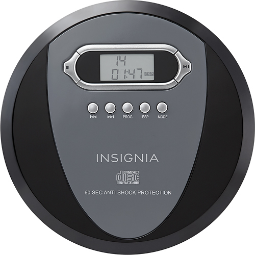 old school CD player - no link for this one, any portable CD player will do! Avoid the new fancy ones that have bluetooth capabilities. We get audiobooks from the library and E loves listening to it just laying on his bed or while he's playing with toys.