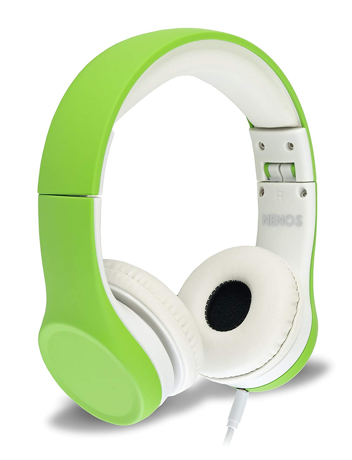 Kids headphones - We have these and they are excellent. Volume limiting for kids and has a soft no-tangle cord.
