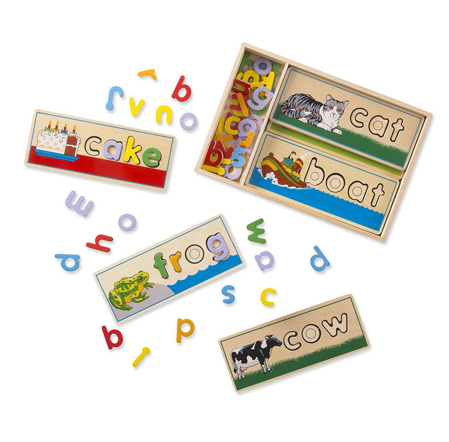 Wooden spelling set - We have this set and it has been well loved.