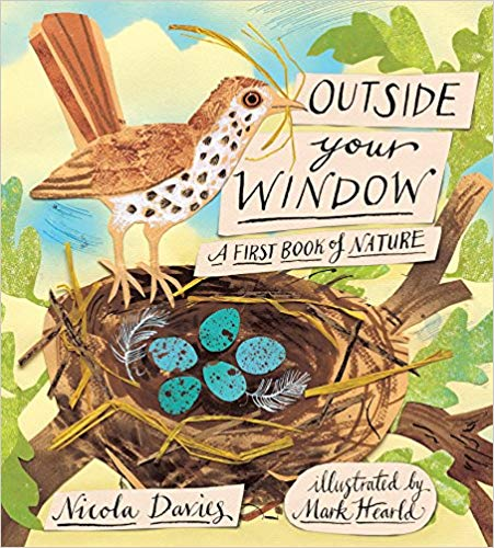First book of Nature - This gorgeously illustrated volume of poetry — sprinkled with facts and fun things to do — sows an early love for nature in all its beauty and wonder. It is a big book - a children's bookshelf staple in my opinion!