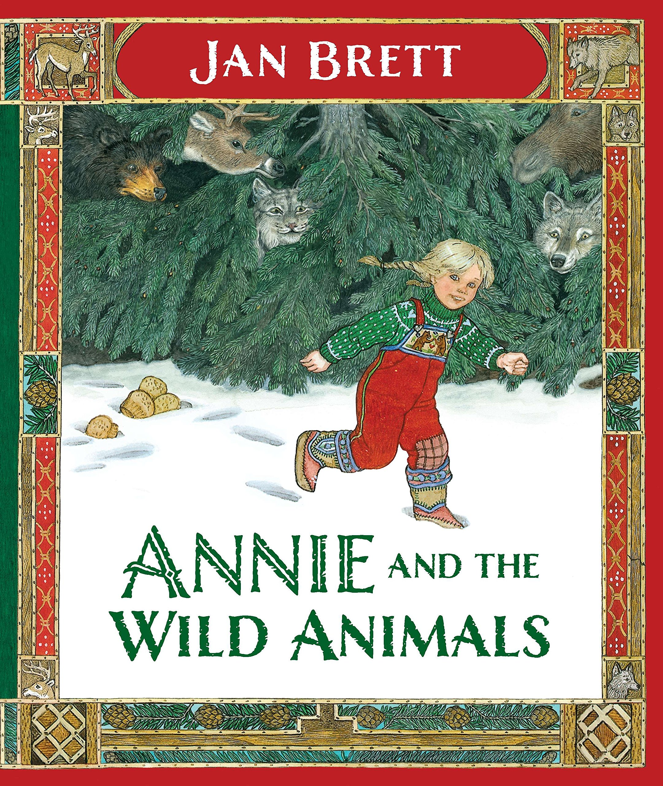 Annie and the Wild Animals - I've got mad love for Jan Brett's books, and this one is my favorite. LOVE everything about this book.