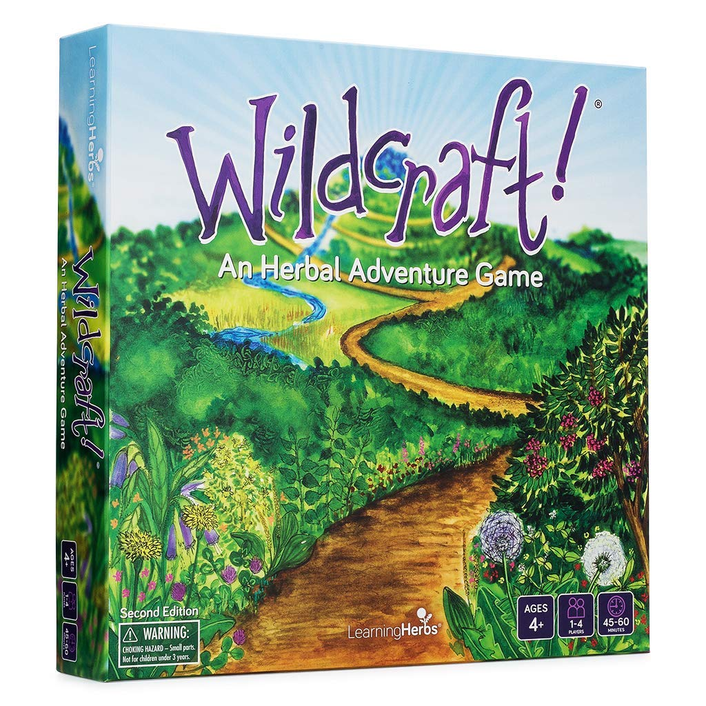 Herbal learning game -