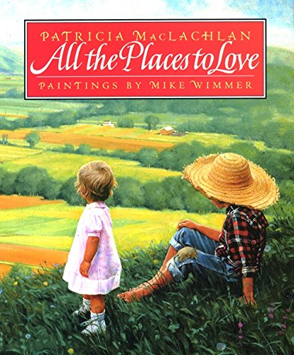 All the Places to Love - Oh my stars, this book. I had tears in my eyes when I flipped the last page. I'd say this one is on my top five list. The paintings exquisitely portray a timeline of the little boy's early year's of life. Buy it, you won't regret it.
