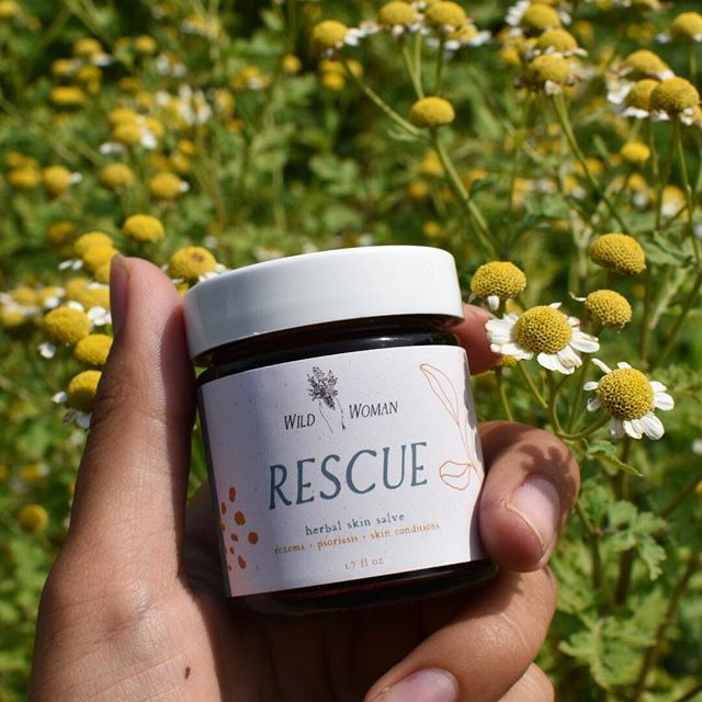 "I just announced my next restock on stories - it will include the addition of this new herbal infusion salve that was created with eczema + psoriasis sufferers in mind. An incredible skin-healing infusion of organic and wild crafted herbs like chamomile, plantain leaf, calendula, comfrey leaf and MORE.. and as always, with no harmful oils or ingredients typical to most ""natural"" products. Which product do you hope to grab this time around? The last restock sold out within 10 minutes! I'll have even more product this time, but I'd still recommend setting an alarm ✨💛"