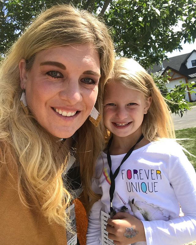 Mother Daughter Date at the Idaho Falls Parade of Homes today! One of our favorite things to do every year!