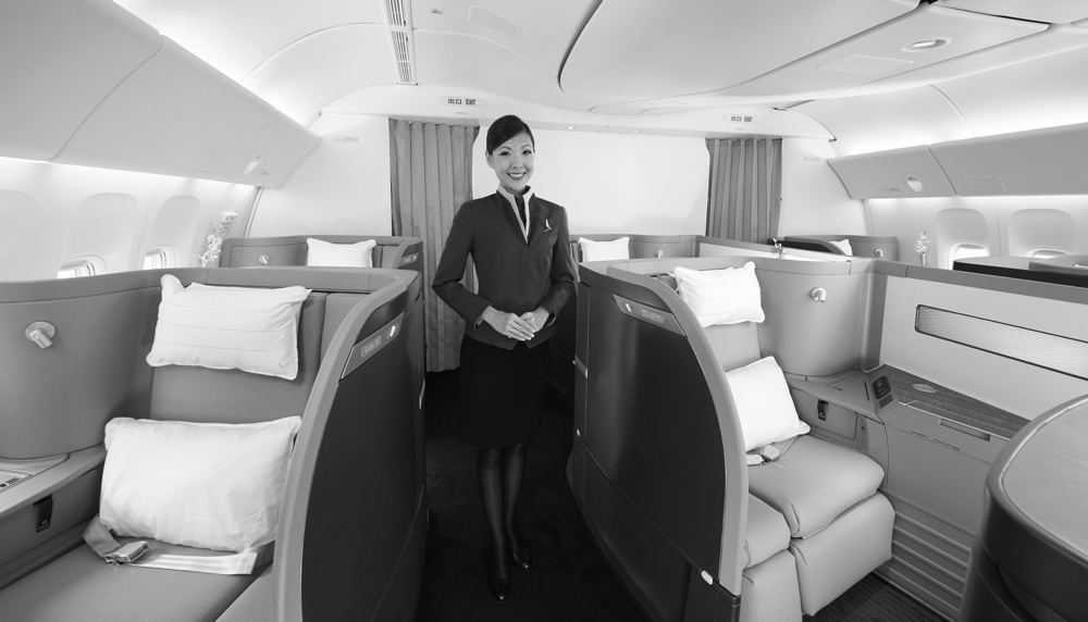 image courtesy of Cathay Pacific