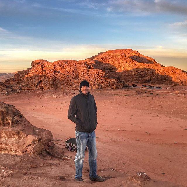 Wadi Rum sunrise vibes 🌅