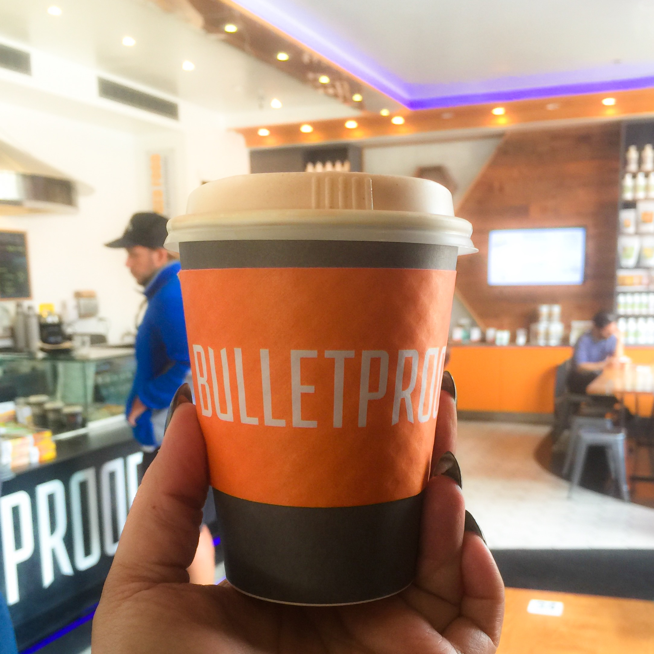OBSESSED WITH BULLETPROOF COFFEE SHOP by Jen Fisch