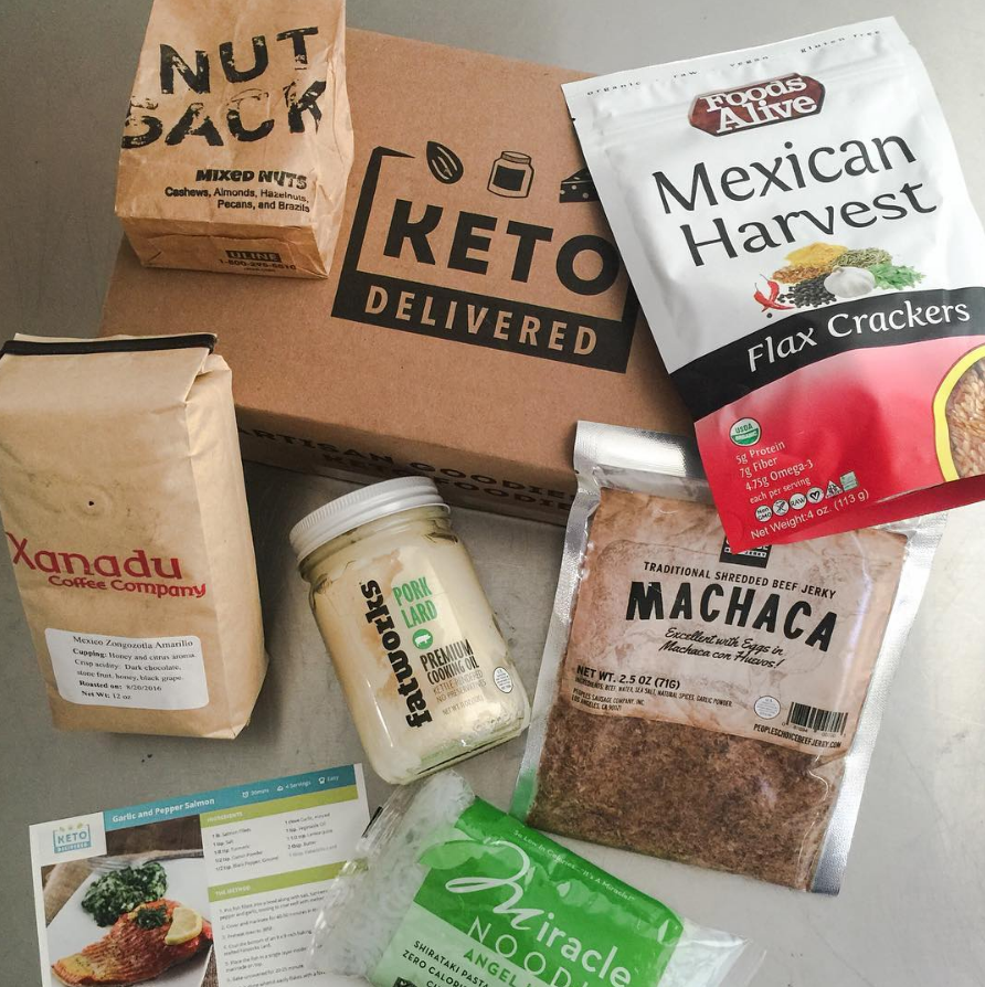 The August Box by Keto Delivered!