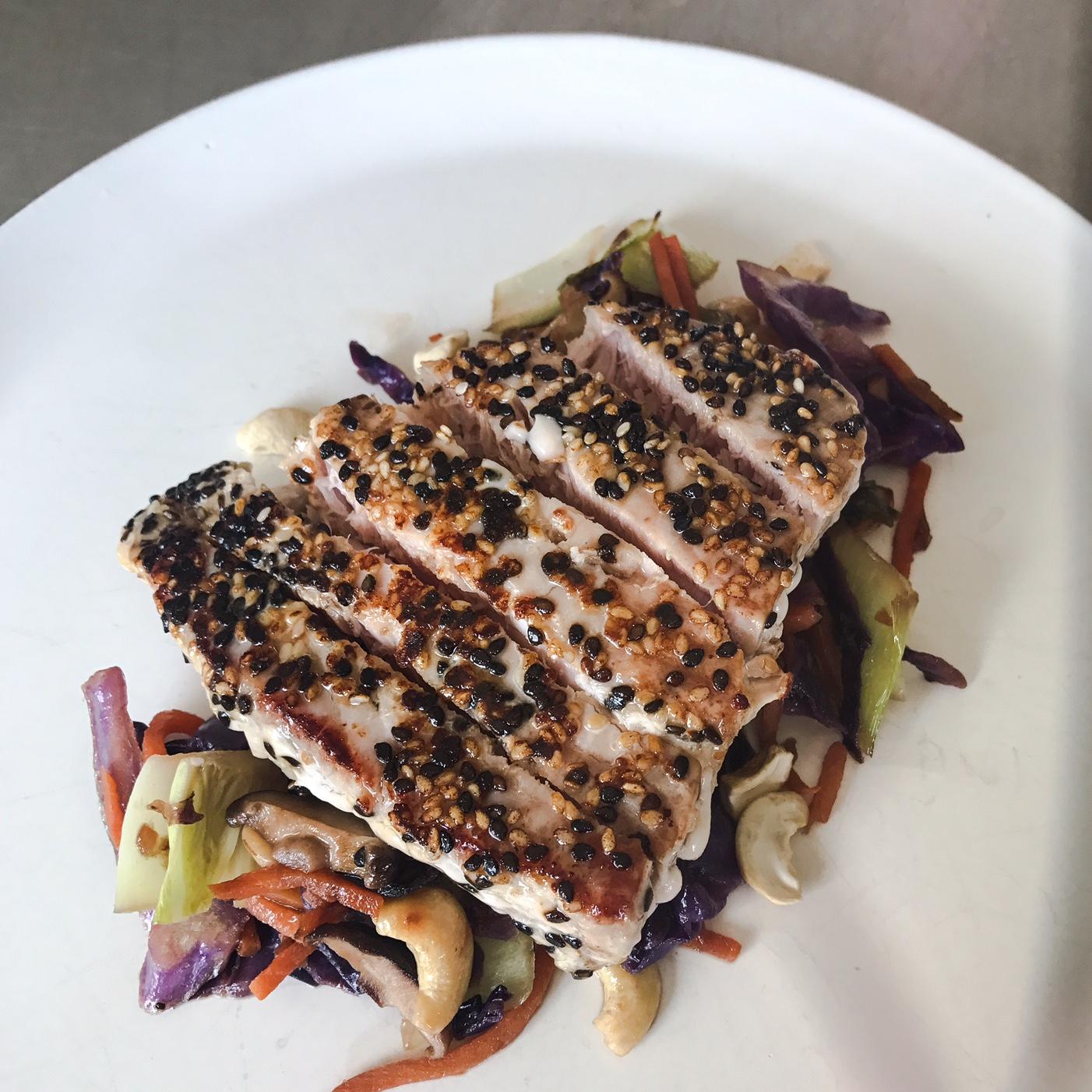 Green Chef's Keto Meal Kit: Sesame-Crusted Tuna
