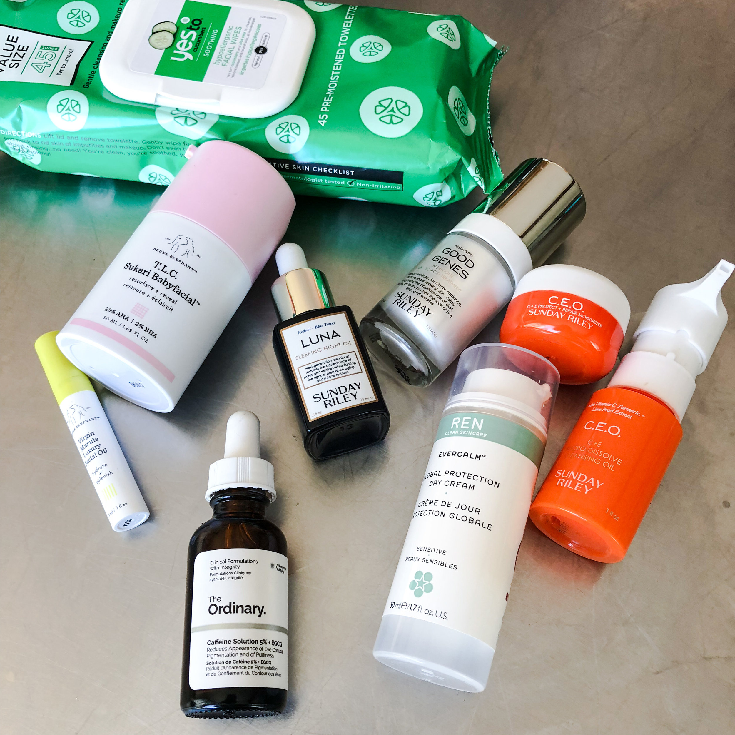 TRYING TO KEEP MY (ALMOST 40 YEAR OLD) SKIN LOOKING YOUNG by Jen Fisch via Keto In The City