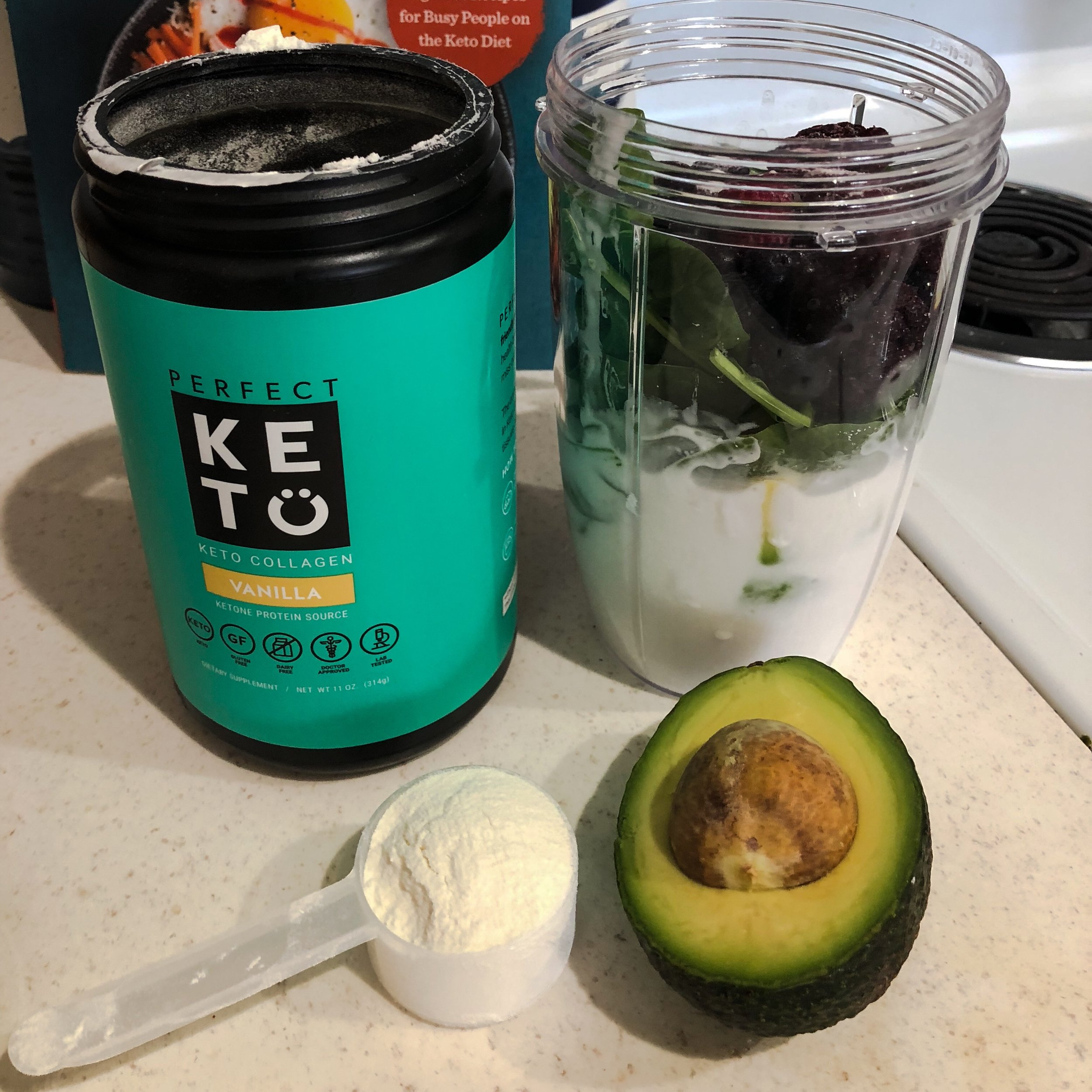 Keto in the city perfect keto smoothie