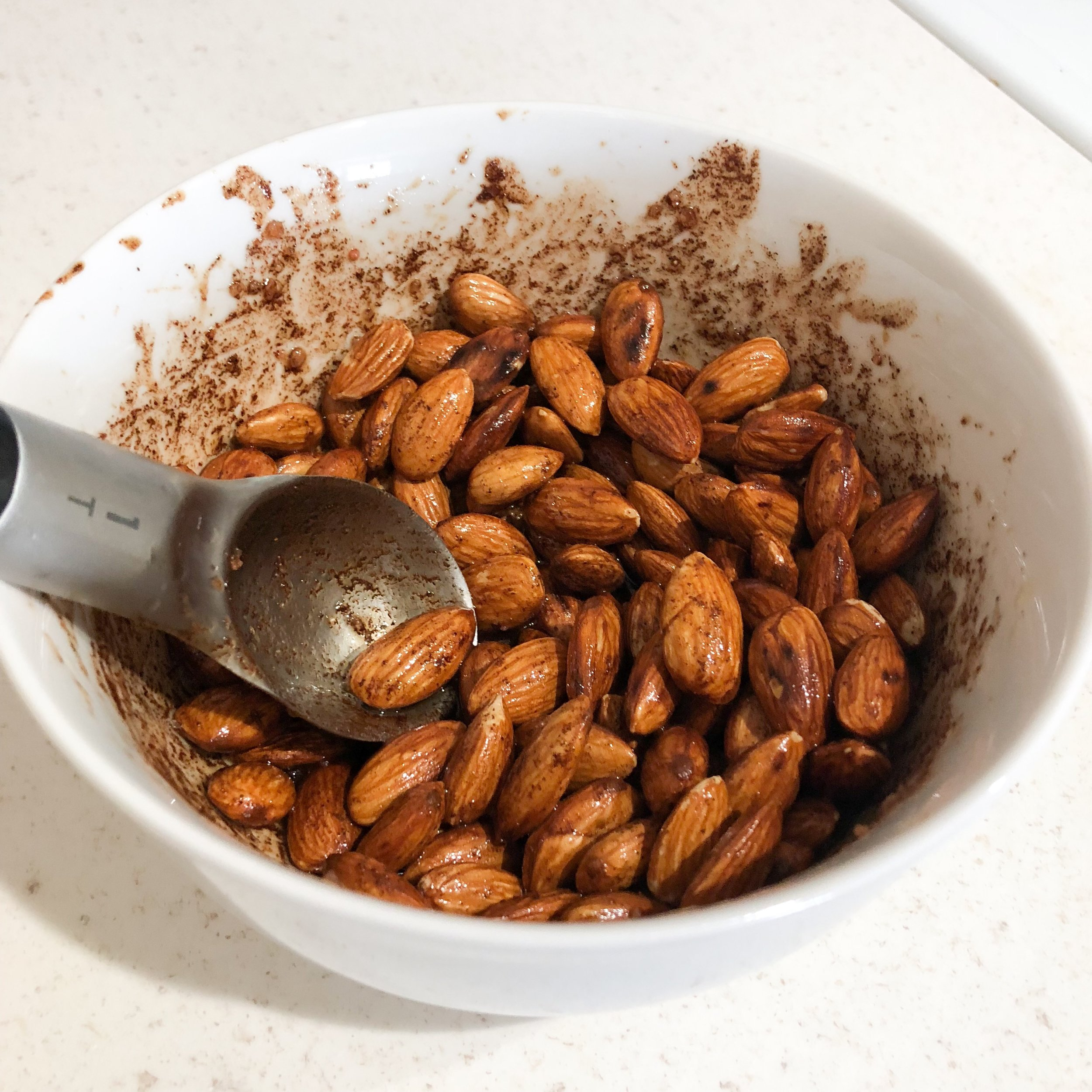 keto cinnamon almonds