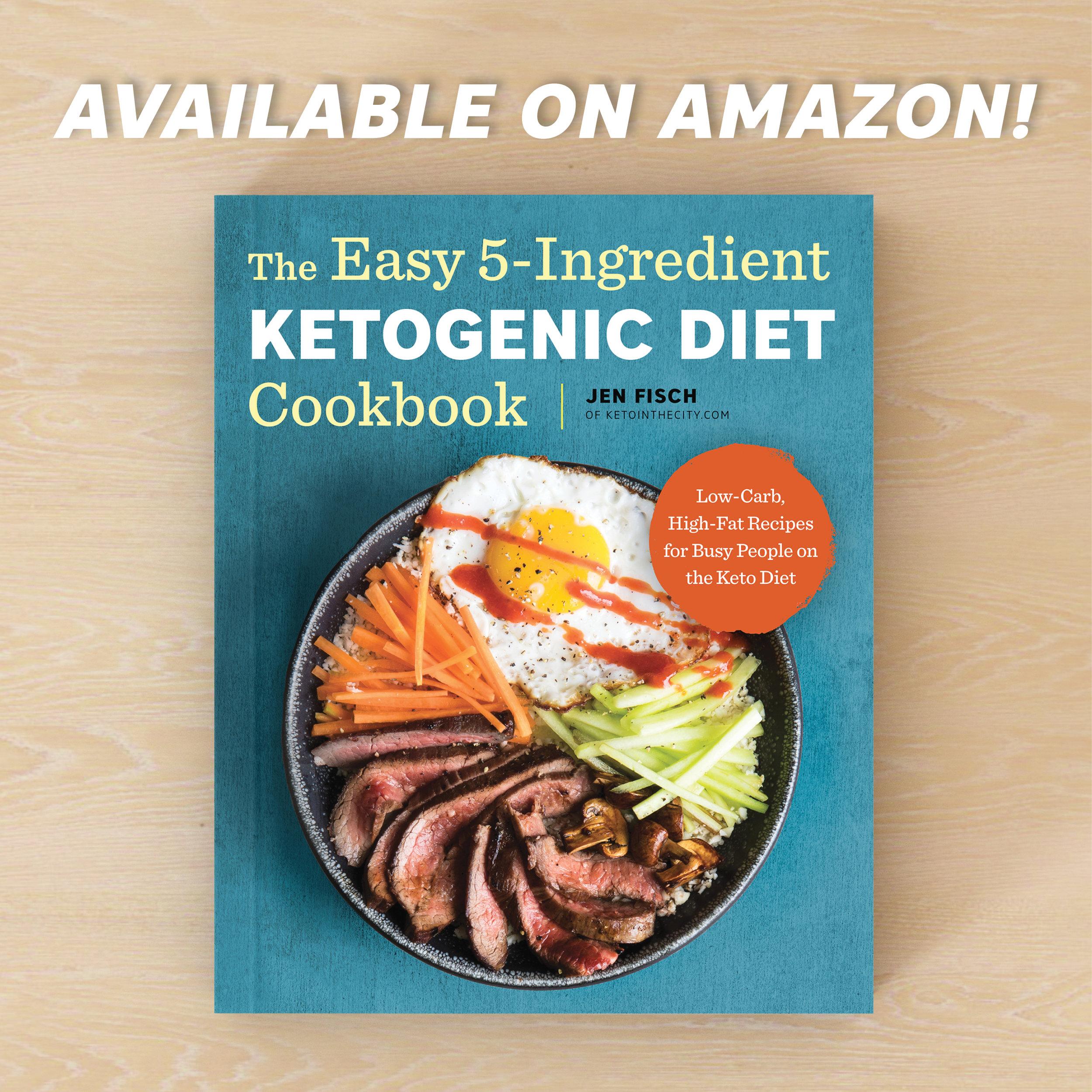 5 ingredient keto cookbook