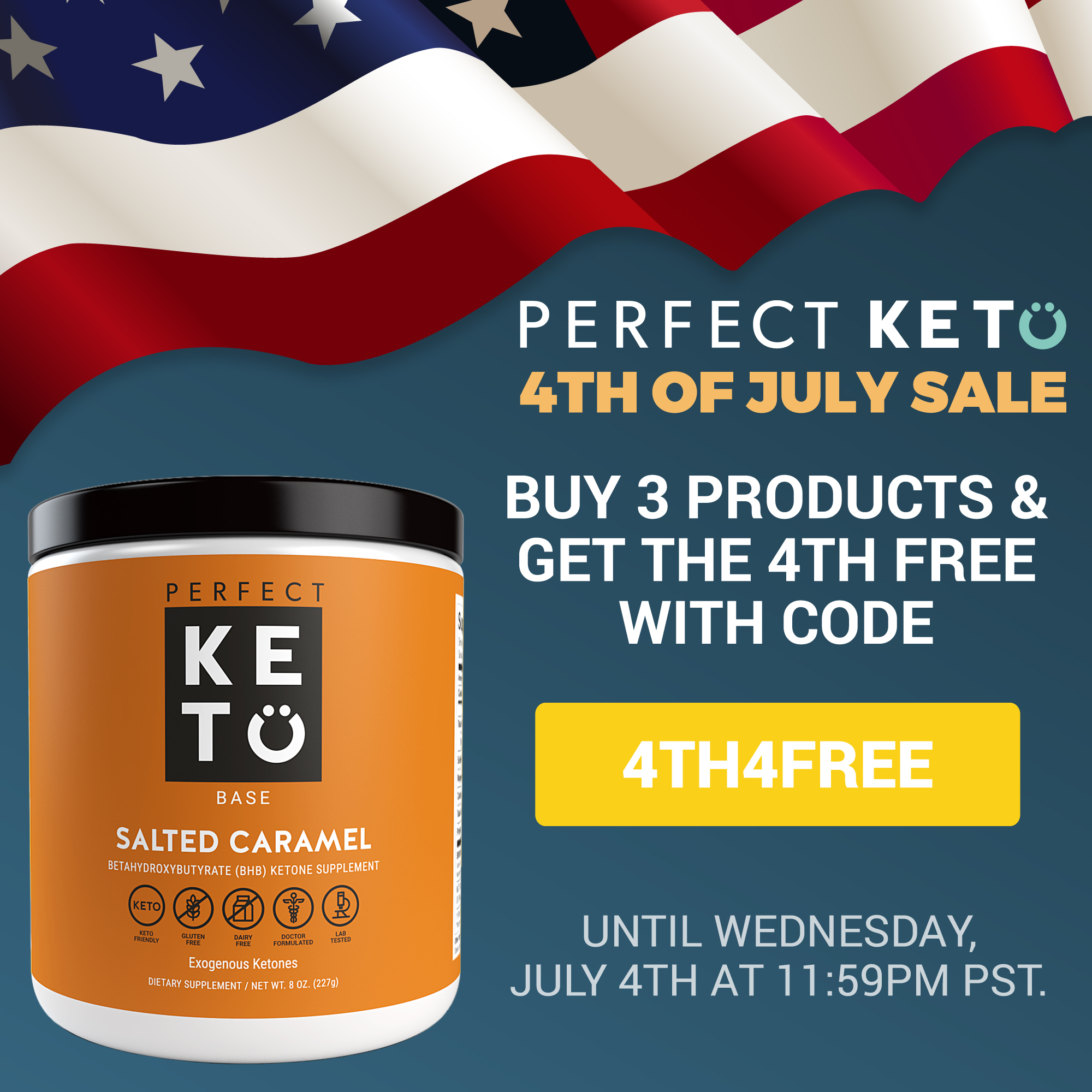 keto july fourth