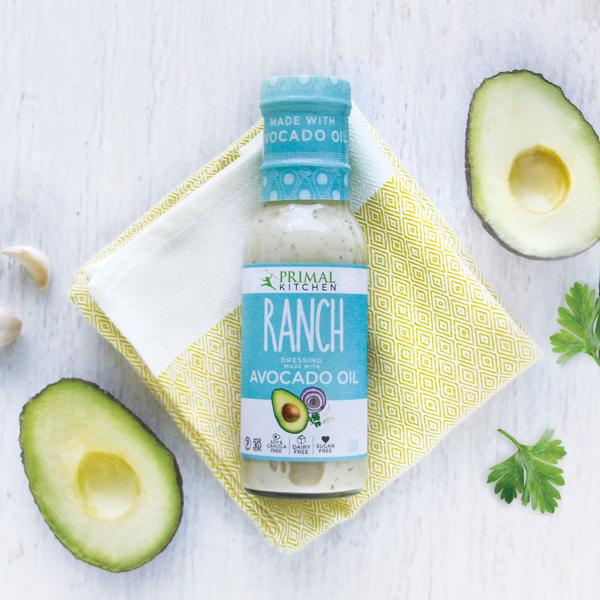 Ranch avocado oil keto dressing