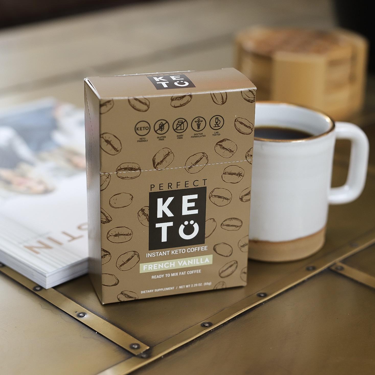 keto coffee single packs