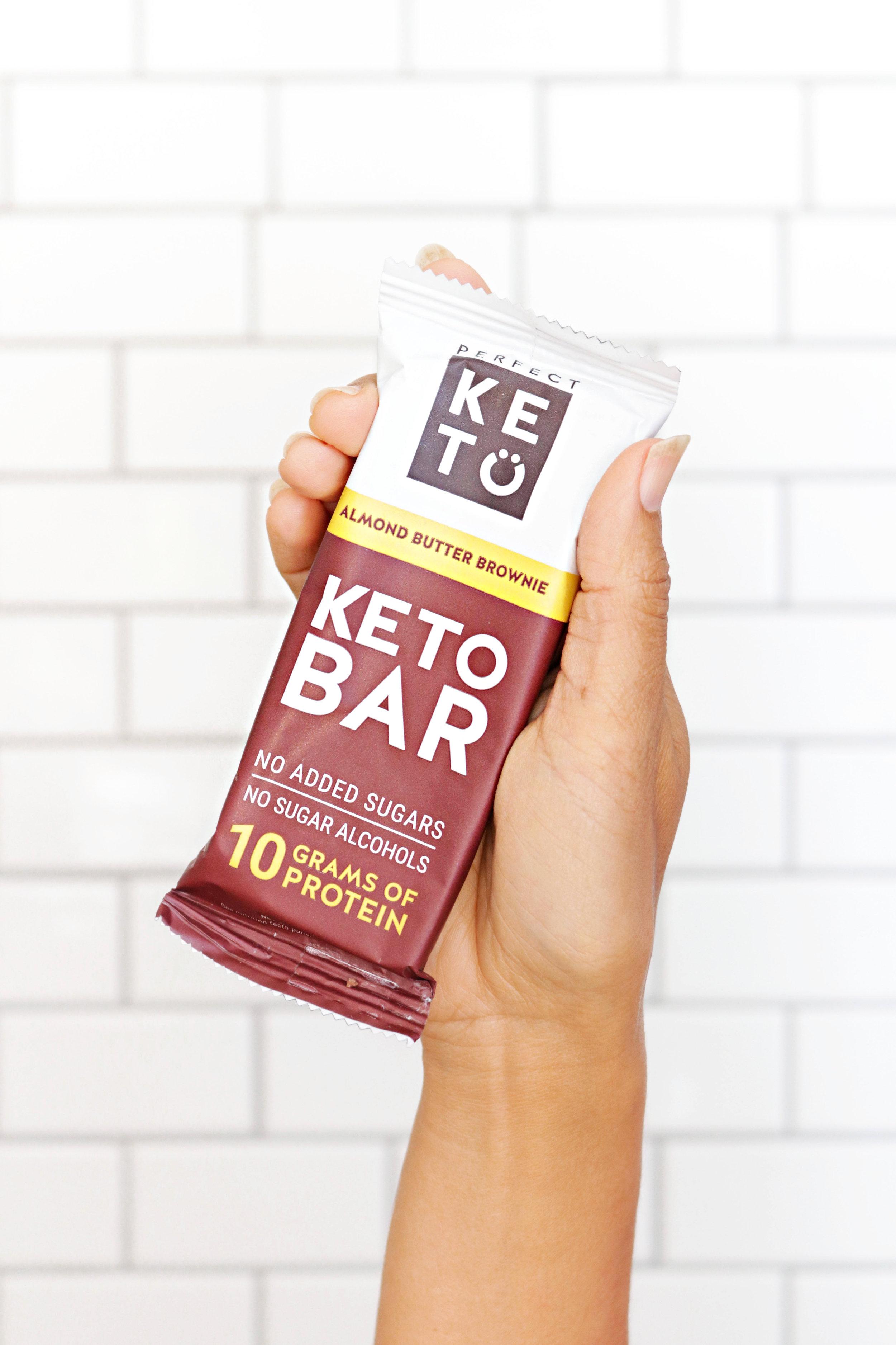 perfect keto snack bars