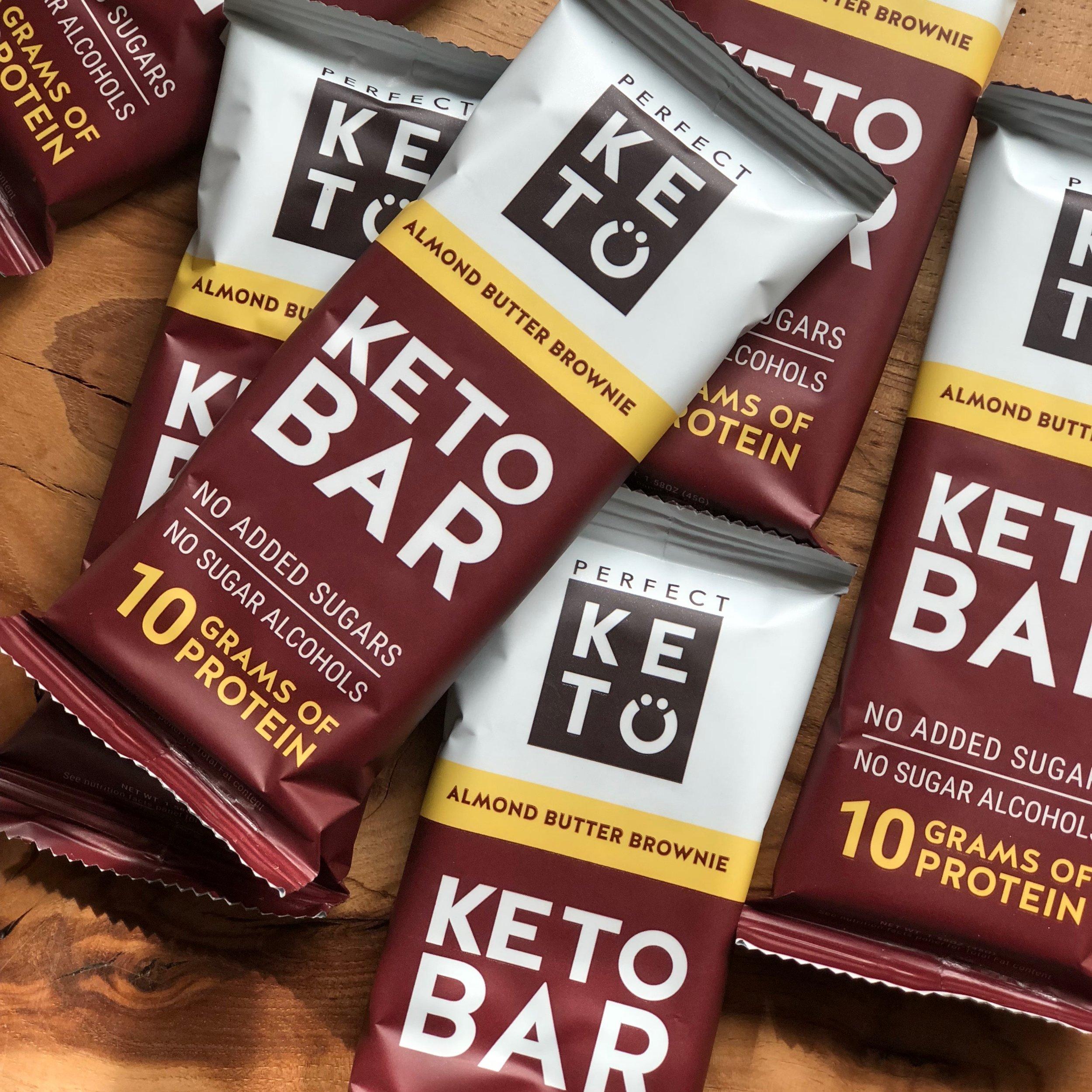 brownie snack bar keto
