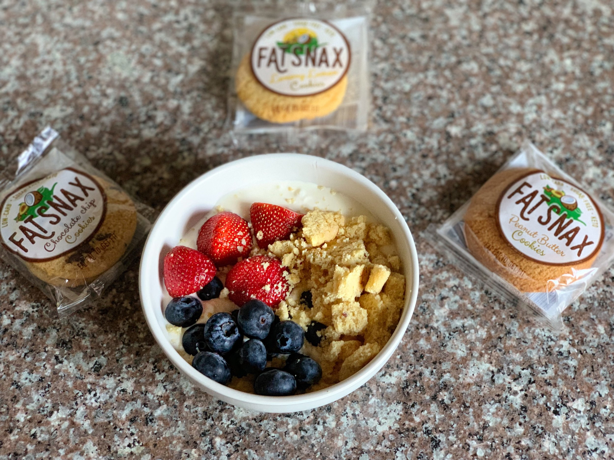 yogurt fat snax bowl