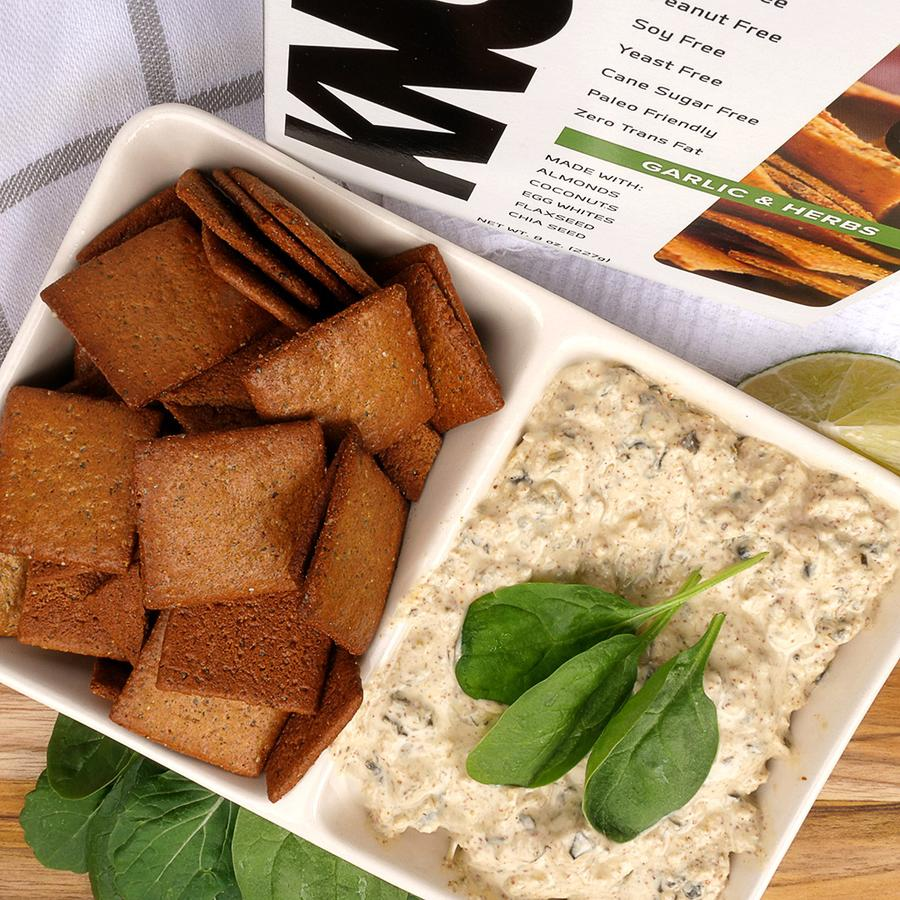 know foods thins and dips