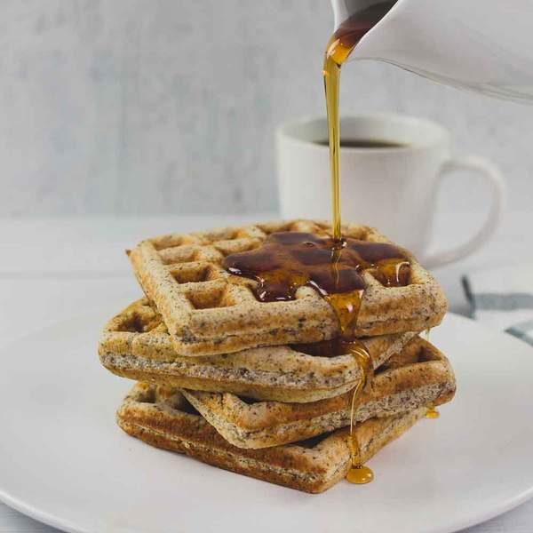 know waffles keto syrup