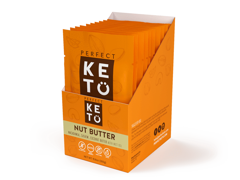 keto nut butter squeeze packs