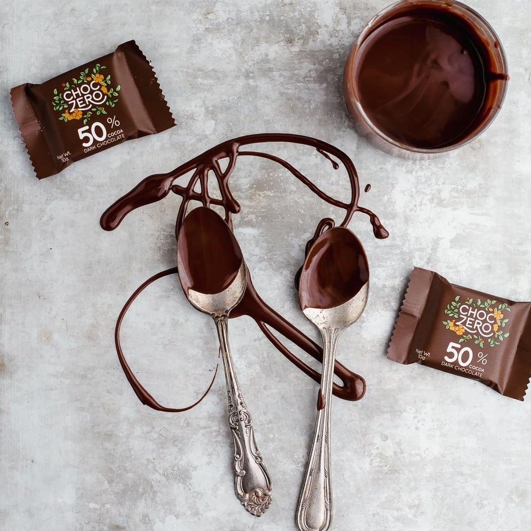 chocolate spoons choc zero