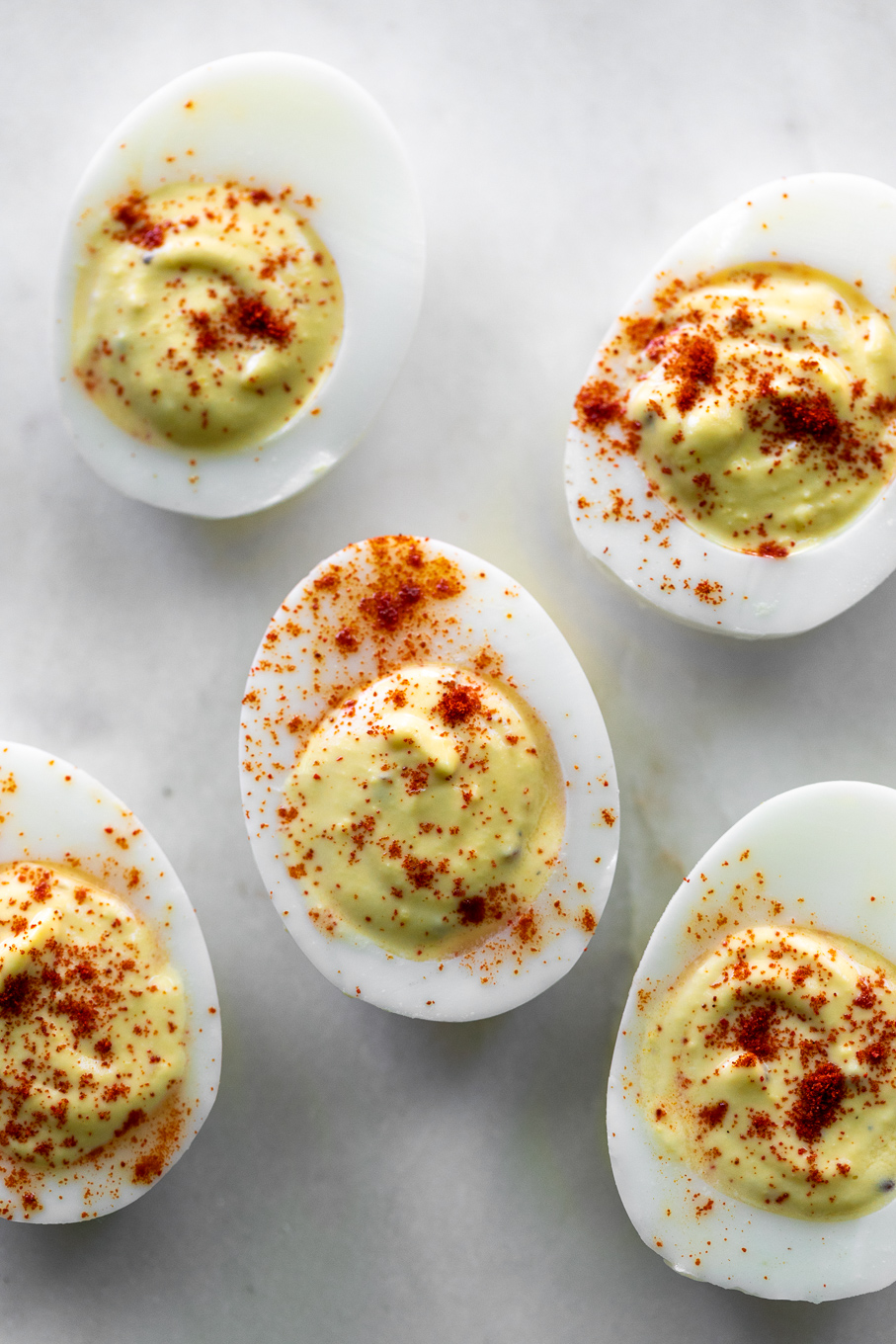 keto deviled egg