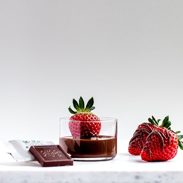 chocolate syrup strawberries keto