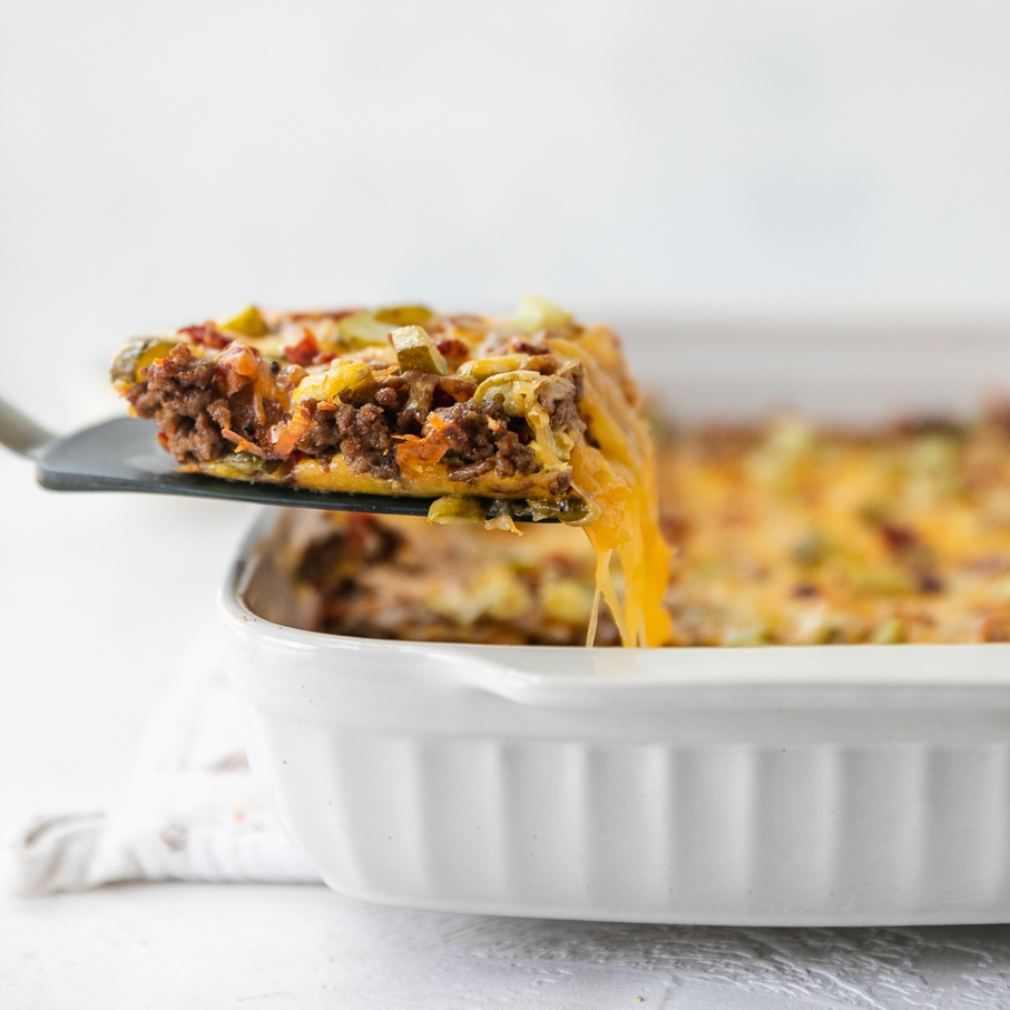 cheese keto casserole
