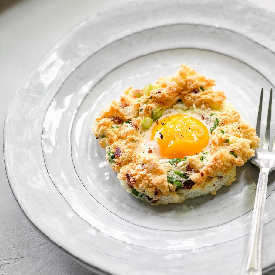keto cloud eggs