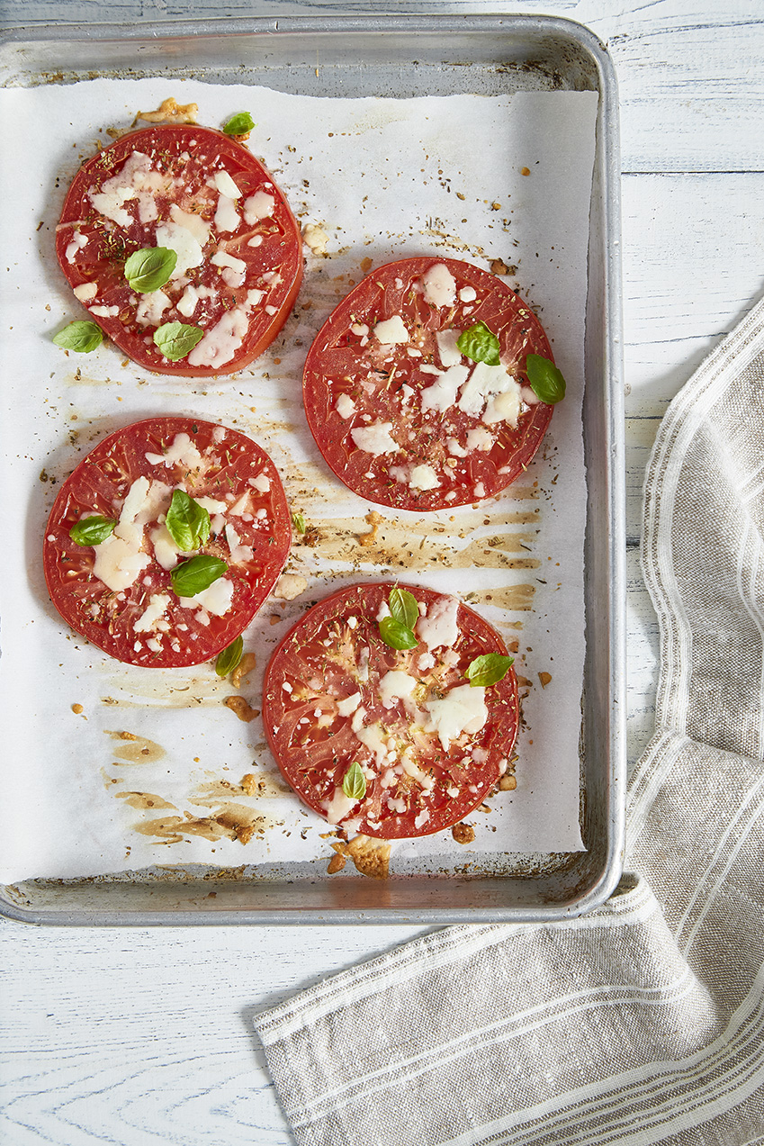 Baked Parmesan Tomatoes keto in the city
