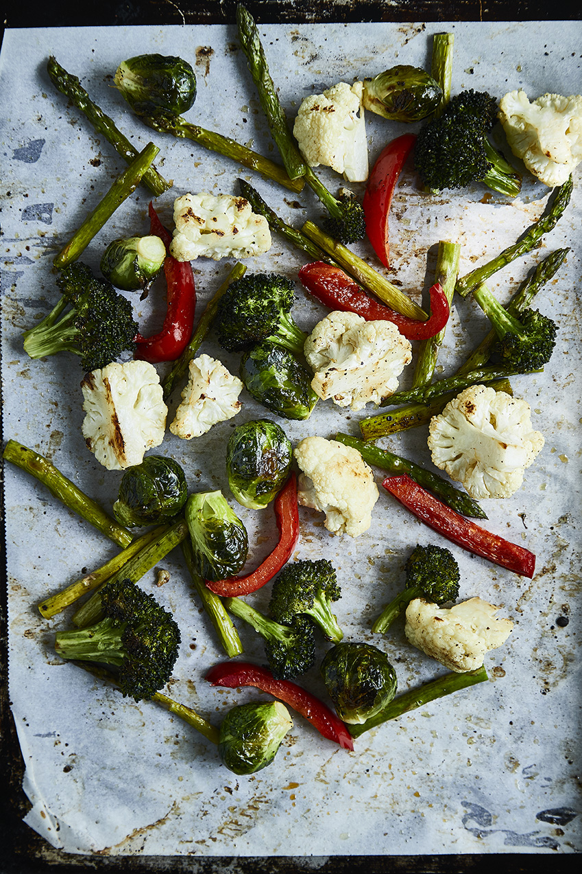 roasted veggies keto in the city big book of keto