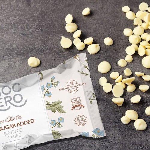 white chocolate keto chips