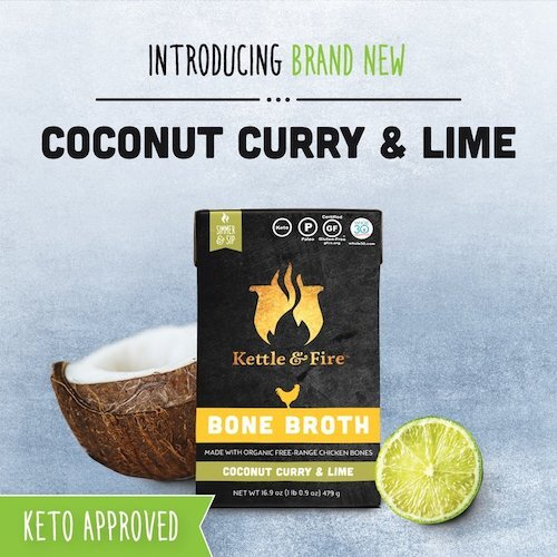 Keto coconut curry