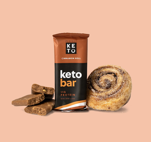keto bar cinnamon