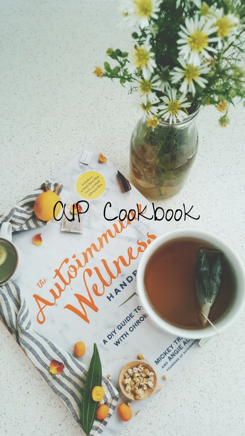 AIP  | With the help of my naturopath, moving to the Autoimmune Paleo Protocol diet to help heal my gut, which in turn, will help with my autoimmune symptoms.  On this journey, I have discovered the  Autoimmune Wellness website  and book, which has been instrumental for me.