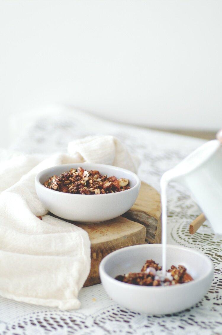 Nut-Ola - Gluten, dairy + refined sugar free