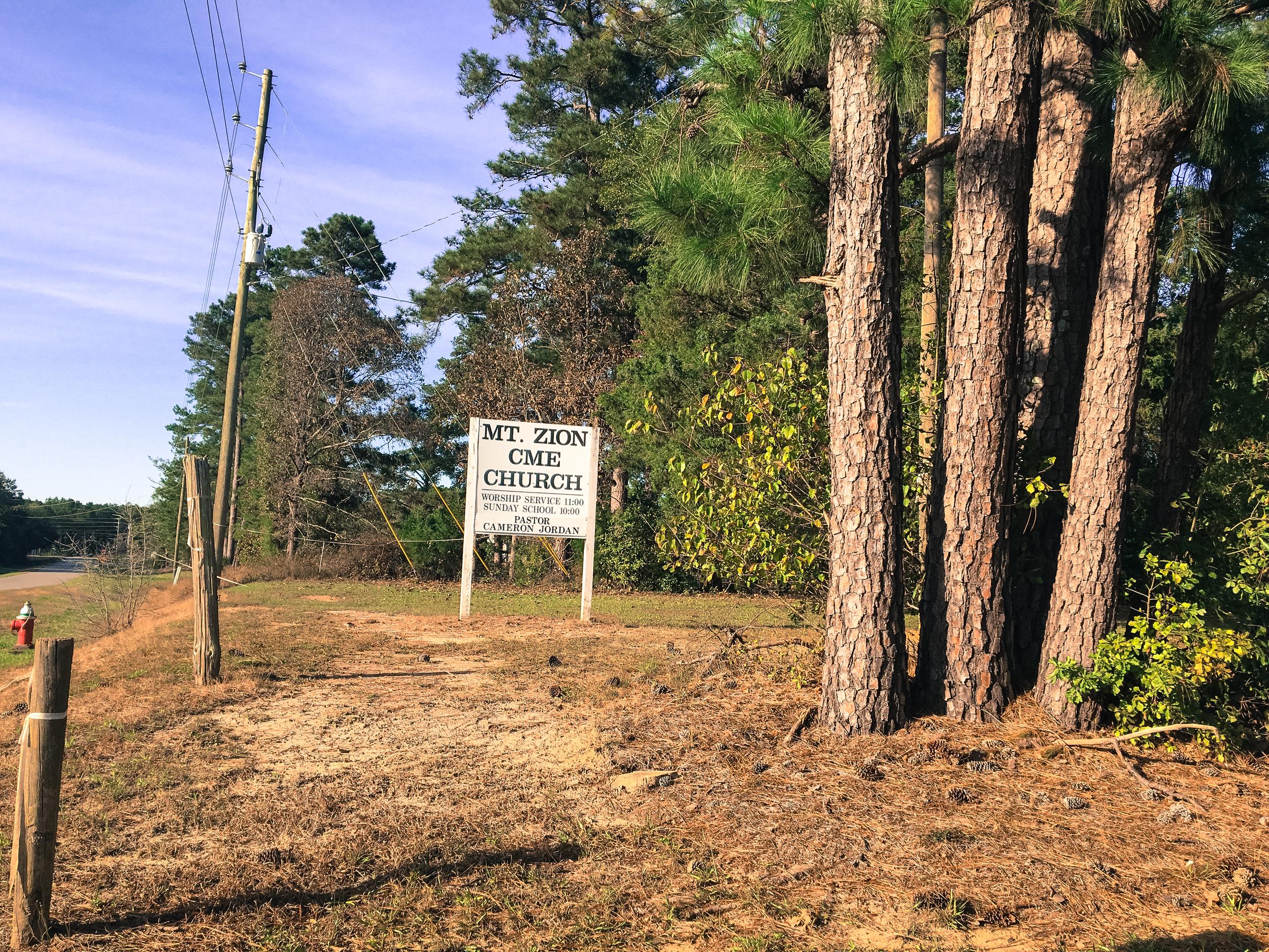 Mt. Zion CME, Perry, GA