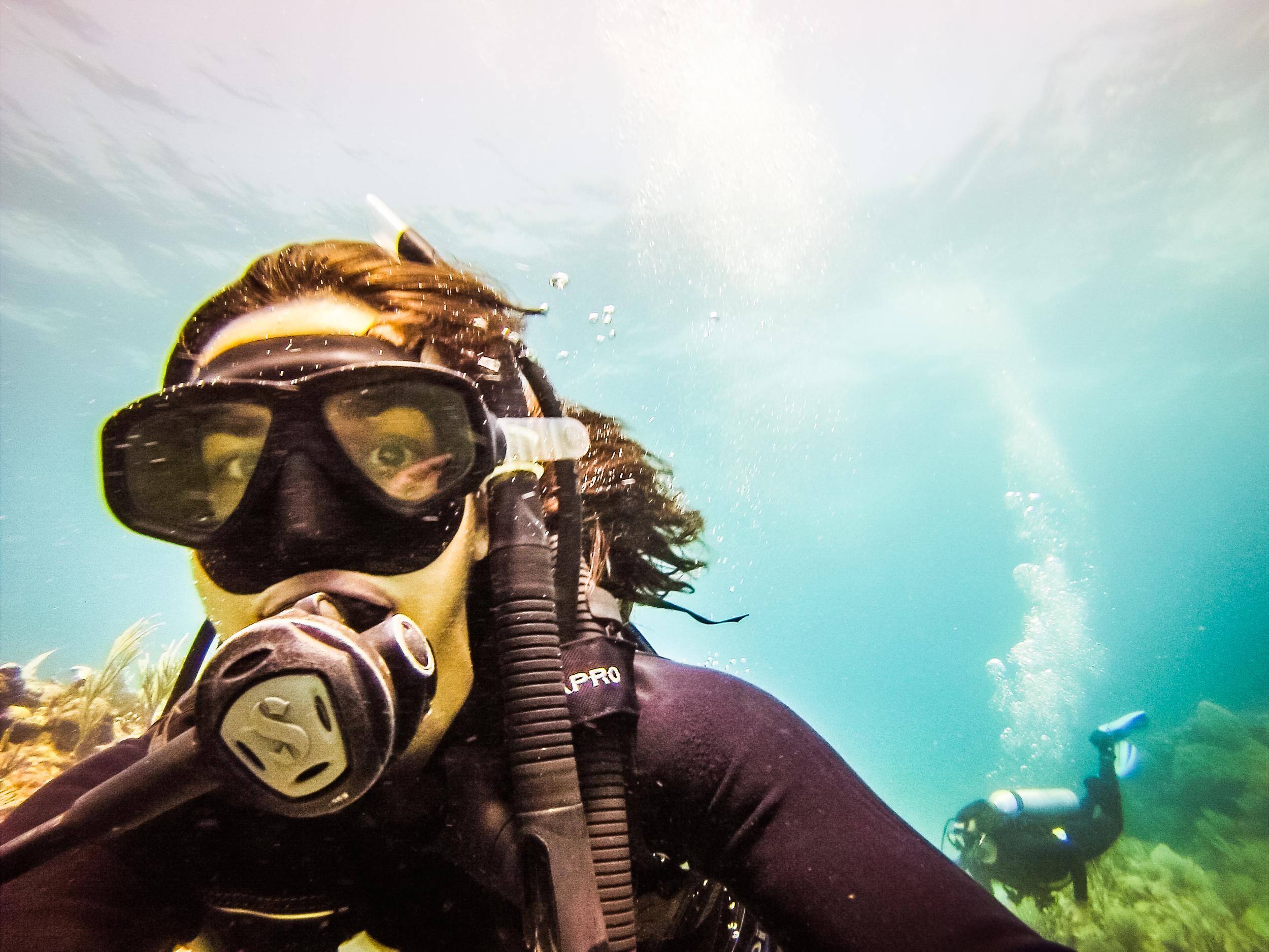 Scuba Diving in Tulum, Mexico