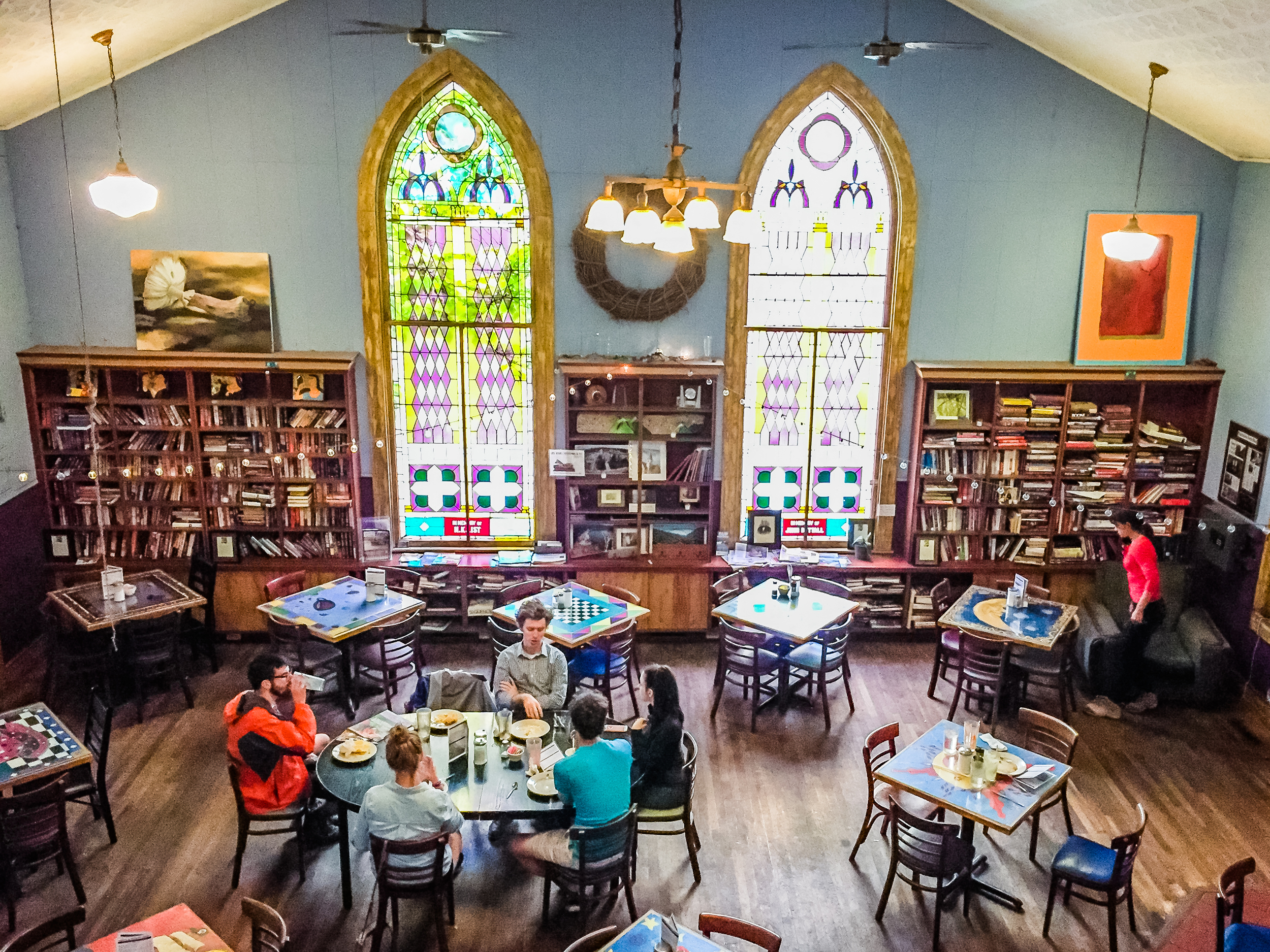 Cathedral Cafe, Fayetteville, West Virginia