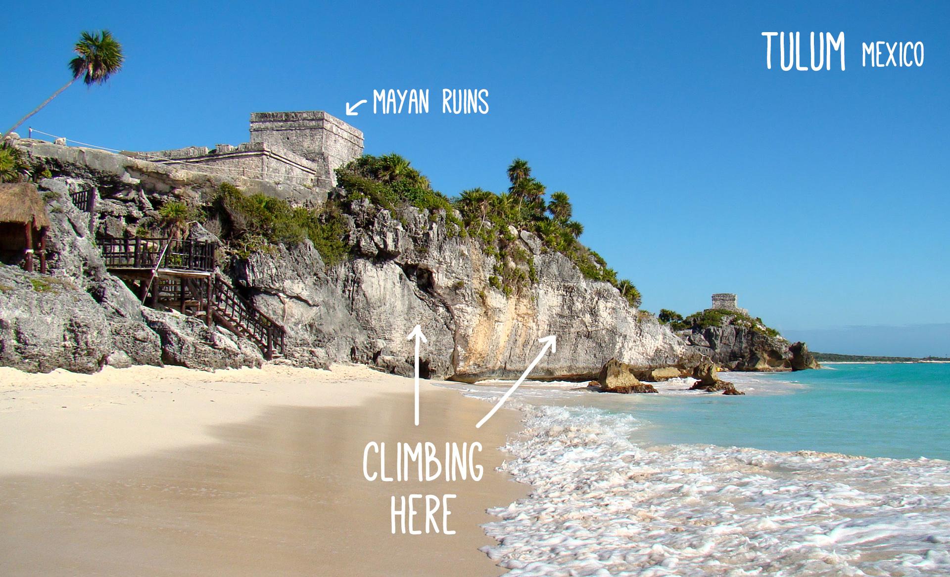 Maya Ruins close to Tulum