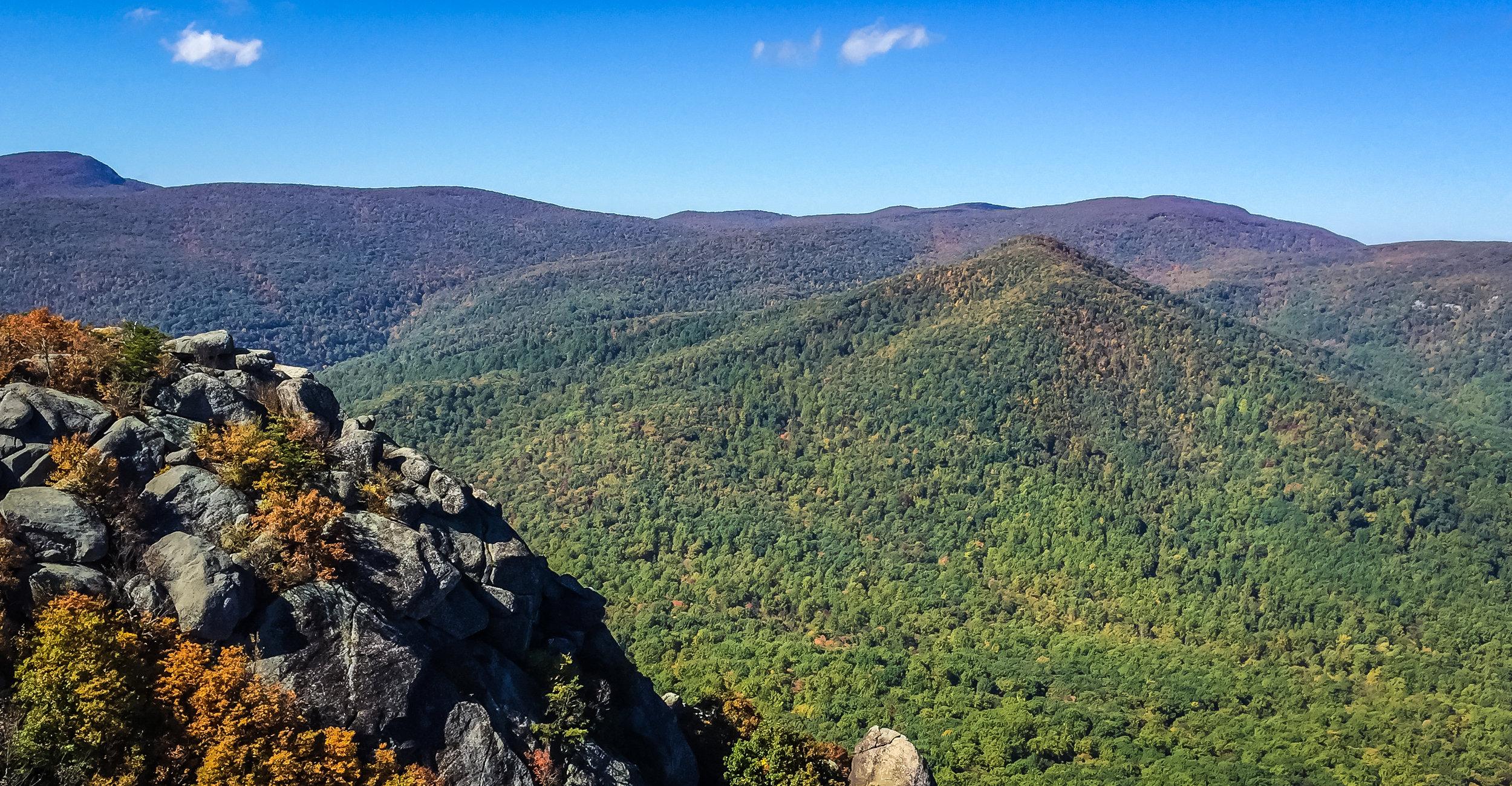 Old Rag Mountain summit, Virginia